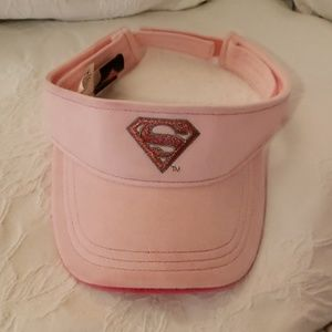 Pink Superman Visor